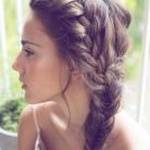 Balık Sırtı Bayan Saç Modelleri